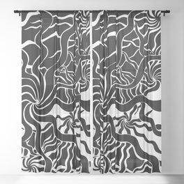 sea weed Sheer Curtain