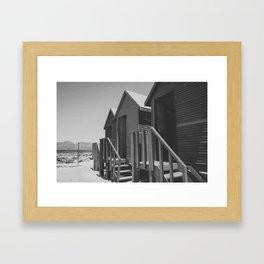 Muizenberg Framed Art Print