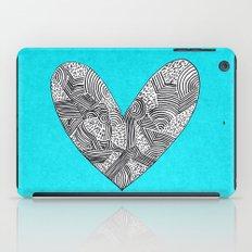 Patterned Heart iPad Case
