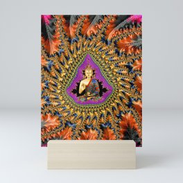 Buddha Mandelbrot Set Mini Art Print