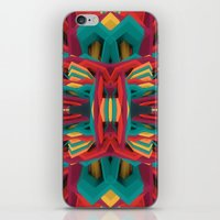 cyberpunk iPhone & iPod Skins featuring Summer Calaabachti Heart by Obvious Warrior