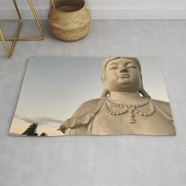 Big Buddha by Mandy Ramsey, Soul Happy Art Rug