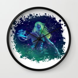 Digital empress Wall Clock