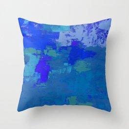 Color Splendor No.1j by Kathy Morton Stanion Throw Pillow
