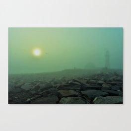 The Fog(Niebla...) Canvas Print