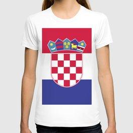Croatia flag emblem T-shirt