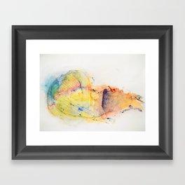 Helix Pomatia Framed Art Print