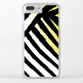 Zesty Tiger Clear iPhone Case