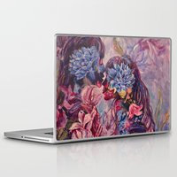 vonnegut Laptop & iPad Skins featuring everything was beautiful, nothing hurt by Gabrielle Agius