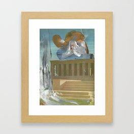 B L O O D Framed Art Print