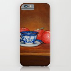 Teacup with Three Apples Slim Case iPhone 6s