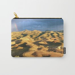 An intense rainbow in the painted hills Carry-All Pouch