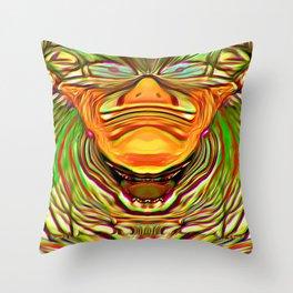 Three Faces ~ The Sleeping Clown Throw Pillow