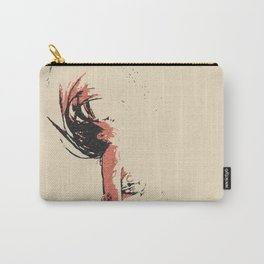 In the move - sexy nude girl, woman in bikini, abstract spiritual sketch, eagle spirit Carry-All Pouch