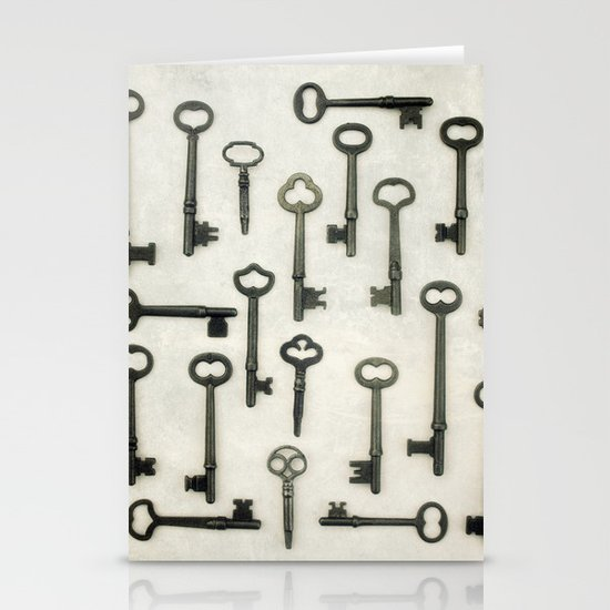 The Key Collection Stationery Cards