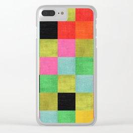 Textil Clear iPhone Case