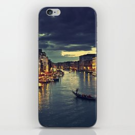 Venise by night iPhone Skin