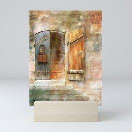 The Front Door Mini Art Print