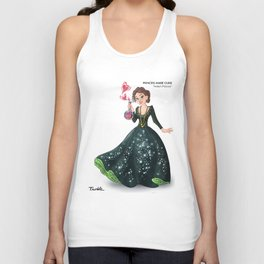 Princess Marie Curie (Trumble Cartoon) Unisex Tank Top