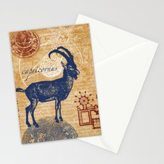 capricornus   steinbock Stationery Cards