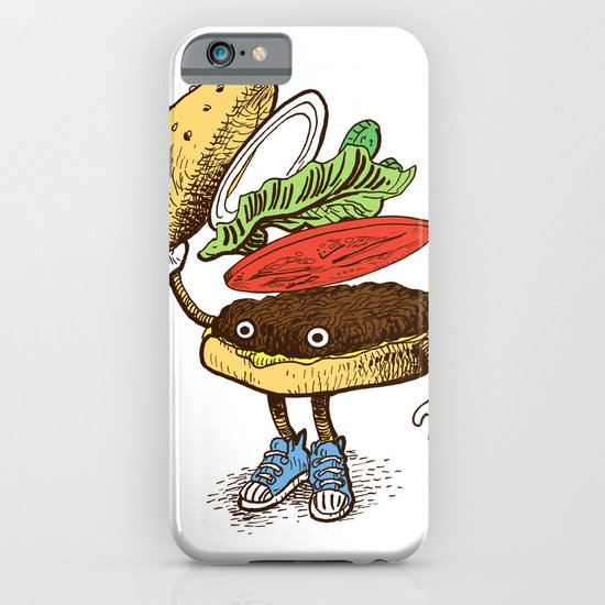 Burger Greeting iPhone & iPod Case