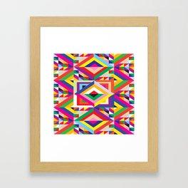 Wild Colormix Framed Art Print