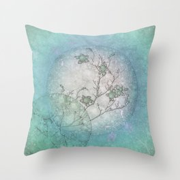 Serenity Blue Throw Pillow