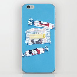 White Rabbit Candy 2 iPhone Skin