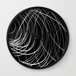 B&W Compex Swirl Wall Clock