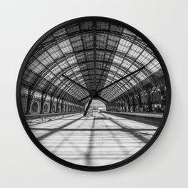 Retiro Train Station. Buenos Aires. Wall Clock