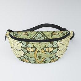 W Morris Pipernel Art Nouveau Detail Fanny Pack