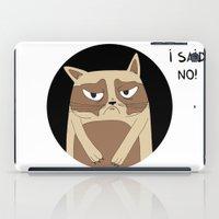 grumpy iPad Cases featuring Grumpy by Adrian Serghie