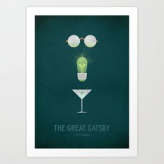 The Great Gatsby Art Print