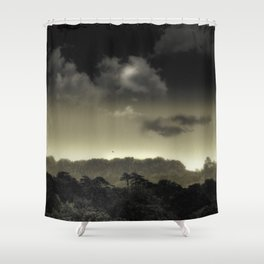 Stored in the Cloud Shower Curtain