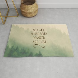 Not all those who Wander Rug