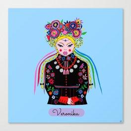 Veronika Canvas Print