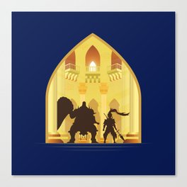 Ornstein and Smough (Dark Souls) Canvas Print