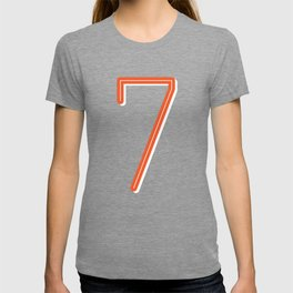 The Lucky Number Seven T-shirt