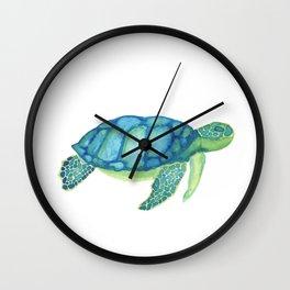 Les Animaux: Sea Turtle Wall Clock