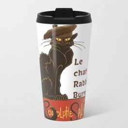 Le Chat Rabbie Burns With Tam OShanter Travel Mug