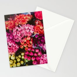 Flower Market in Hong Kong Stationery Cards