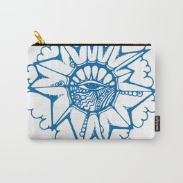Brainstorm Blue Carry-All Pouch