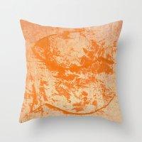 pisces Throw Pillows featuring Pisces by Fernando Vieira