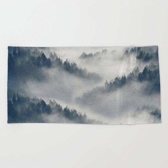 The Fog Beach Towel