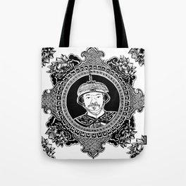 Qing dynasty inspired mandala Tote Bag