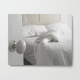 Sleeping Alone Metal Print