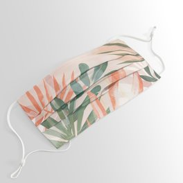 Tropical Leaves 4 Face Mask