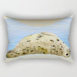 Ecstatic Seal  Rectangular Pillow