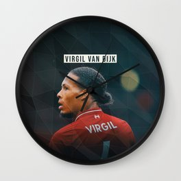 Virgil van Dijk Wall Clock