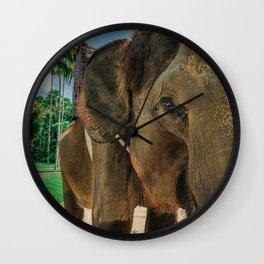 Bali Collection Wall Clock